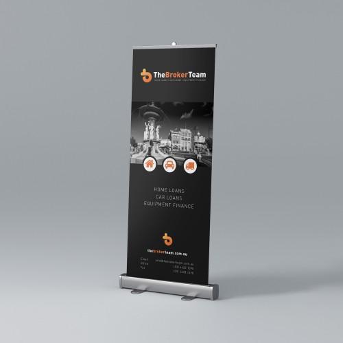Mortgage Broker Banner Design