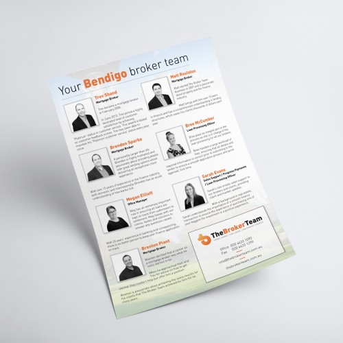 Flyer Brochure Graphic Design A4