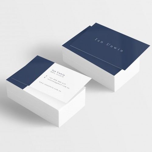 Simple Sophisticated Corporate Business Card Design