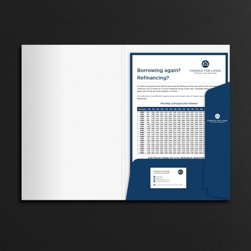 Presentation Folder Design and Print Melbourne