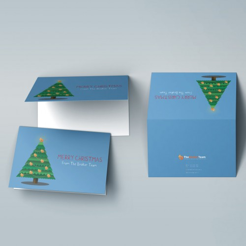 Corporate Business Greeting Card Design Melbourne