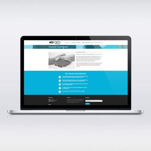 40Forty-Website-Mockup
