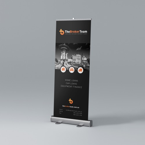 Mortgage Broker Banner Design
