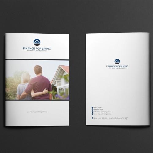 Mortgage Broker Presentation Folder Design Print Supply Melbourne