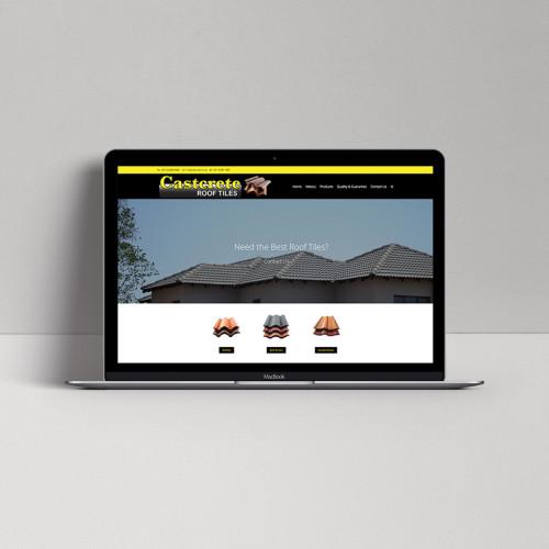 Castcrete-homepage