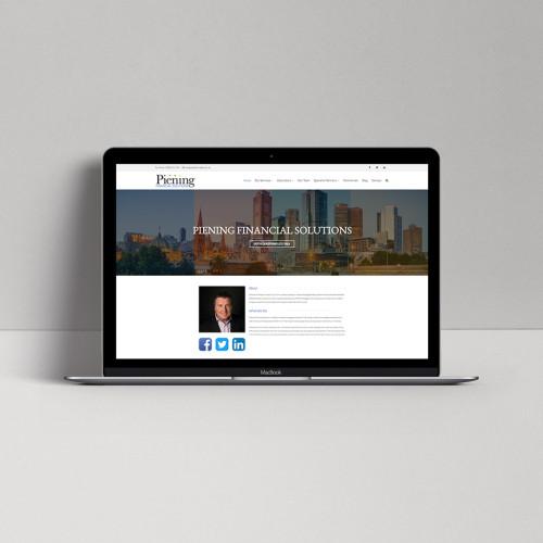 Piening-homepage