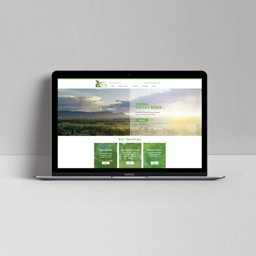 Yarra-Valley-Ride-Share-Web-Home-Page-Mock