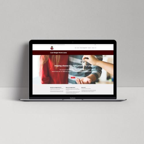 Loan-Ranger-Home-Loans-Website-Design-nuvismedia